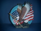 American Eagle Decorative Plate