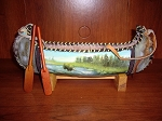 Southwestern Themed Canoe