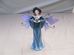 Blue Witch Fairy with Crystal Ball