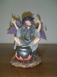 Witch Fairy with Boiling Pot