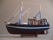 Wood Model Lobster Boat