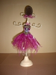 Jewelry Doll Stand- Pink Ballernia