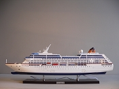 Large Cruise Ship  Plug In And Lights up. L-35 3/4 in  x W-4 3/4 in  x H-12 3/4 in